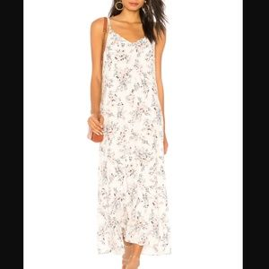 NWT Michael Stars Front-to-back Smocked Maxi Dress